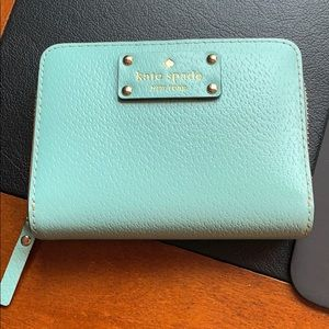 Kate Spade Blue Compact (Small) Wallet